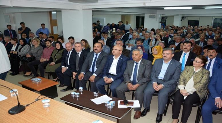 Afyon Ak Parti Aday adayları kendilerini tanıttılar