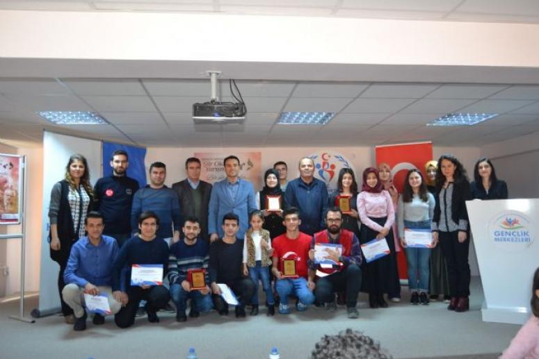 Gençlik Merkezleri Arası Şiir Okuma Yarışması Afyonkarahisar İl Birinciliği Finali Gerçekleştirildi