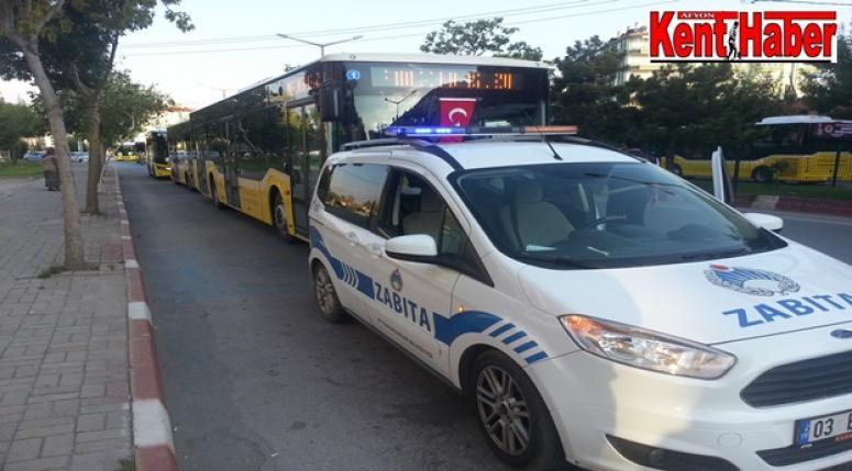 Afyon Özel Halk Otobüsleri tanıtım yaptı