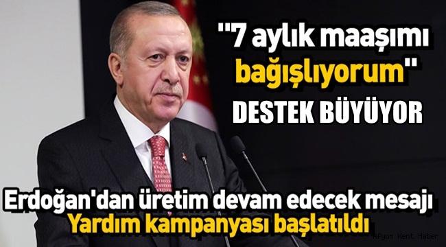 Erdoğan Kampanyayı başlattı!