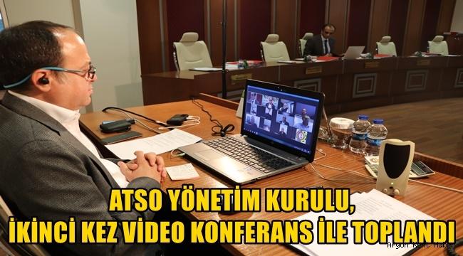 Afyon Atso'dan İkinci Video Konferans !