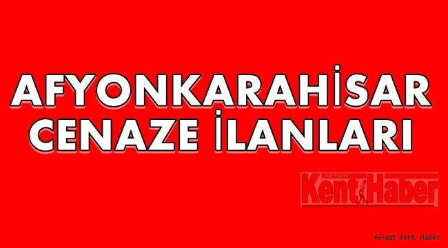 Afyon Cenaze İlanları !!