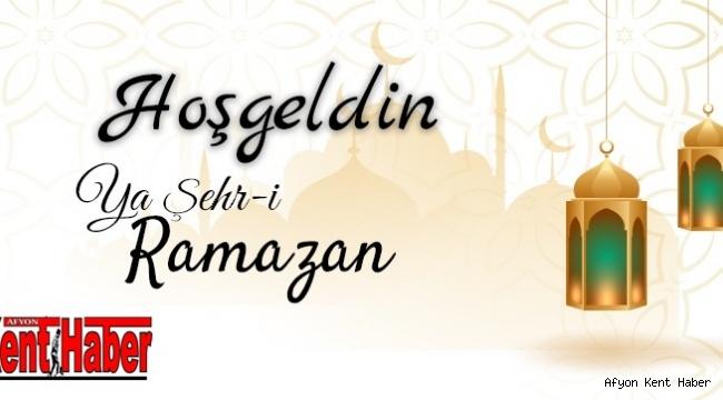 Afyon Kent Haber Ailesi Olarak Ramazan Ayınızı Kutluyoruz
