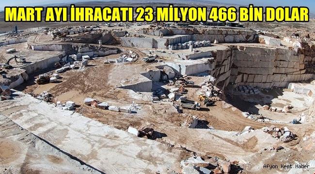 Atso açıkladı! Mart Ayı İhracatı 23 Milyon 466 Bin Dolar
