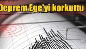Deprem Ege'yi korkuttu !