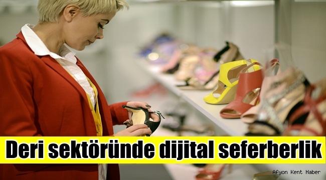 Deri sektöründe dijital seferberlik