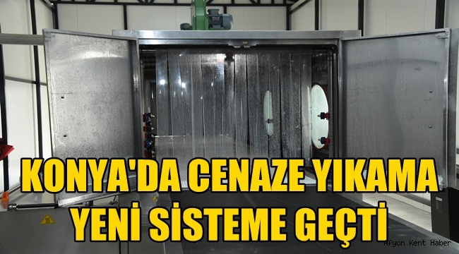 Konya'da Cenazeler yeni sistemle yıkanıyor!