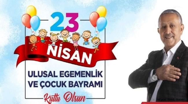 Mehmet Zeybek 23 Nisan mesajı yayımladı!