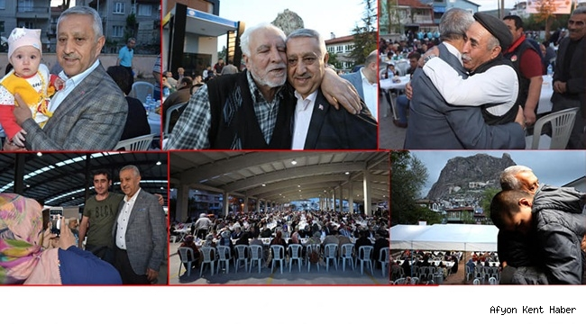 Mehmet Zeybek, Birlikte iftar yapmayı o kadar özledik ki !