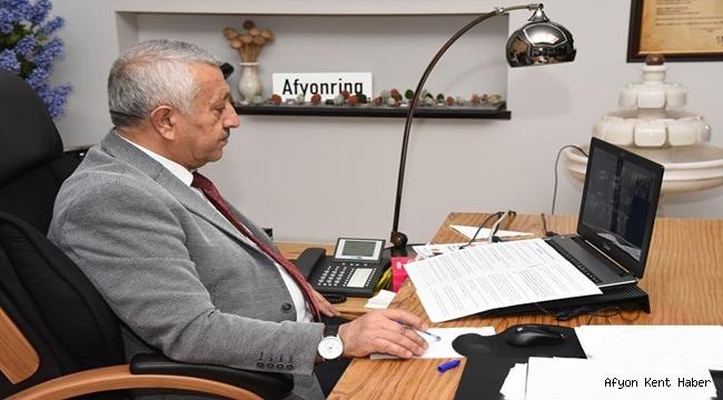 Mehmet Zeybek Büyükşehir ve İl Belediye Başkanları toplantısını gerçekleştirdi