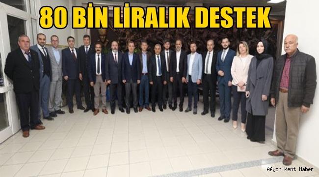 Mehmet Zeybek ve Ak Parti Meclis üyelerinden destek