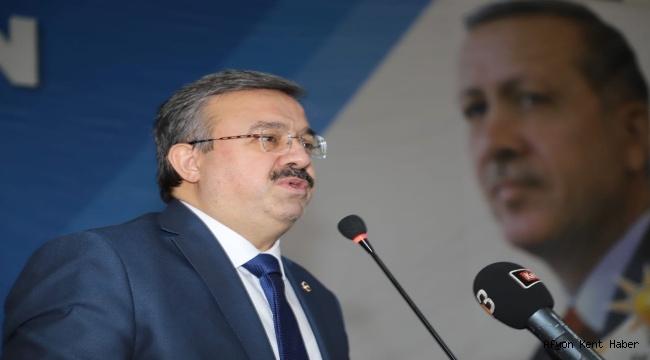 Milletvekili Av. İbrahim Yurdunuseven Berat Kandilini kutladı