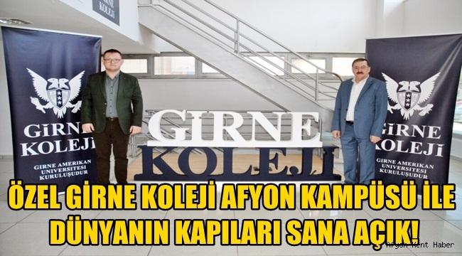 Özel Girne Koleji Afyon Kampüsü ile Dünyanın Kapıları Sana Açık!