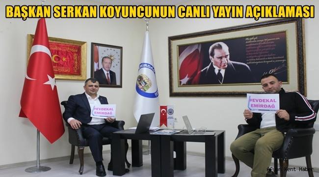 Serkan Koyuncu'dan Canlı yayın açıklaması