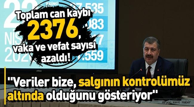 Türkiye'deki toplam can kaybı 2376 oldu