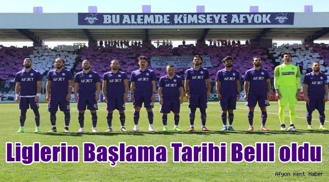 Afjet Afyonspor , Manisa FK'ye konuk olacak !!