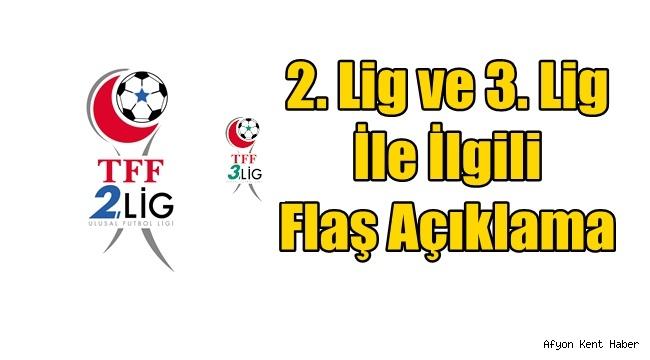 Afjet Afyonspor'un yer aldığı 2.Lig ve 3.Lig ile gelişme!