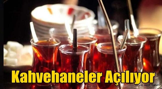Afyon'da Kahvehaneler açılışa hazırlanıyor!