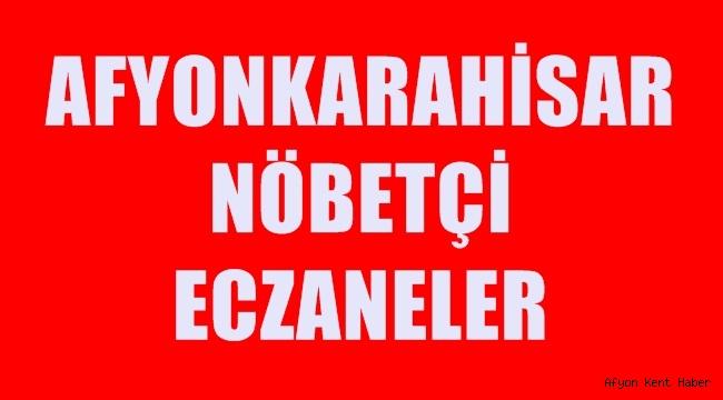 Afyon'da Nöbetçi Eczaneler ( 09 Mayıs 2020 Cumartesi )