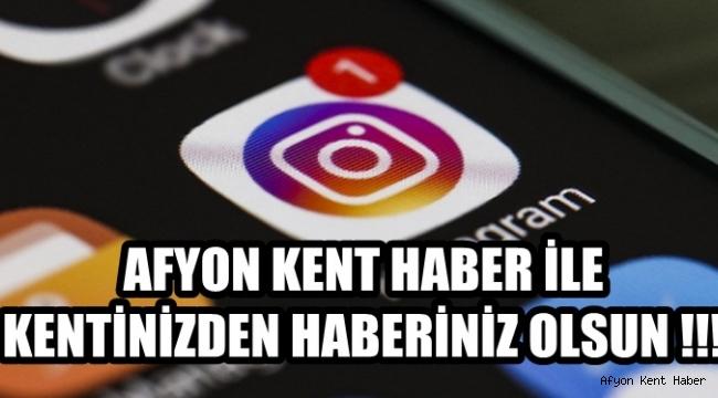 Afyon Kent Haber'i İnstagram Hesabımızdan takip edin !!