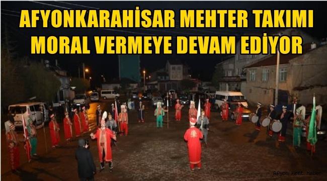 Afyon Mehter Takımı Moral Dağıtıyor!
