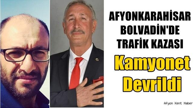 Afyon'un Bolvadin İlçesinde Trafik Kazası !!