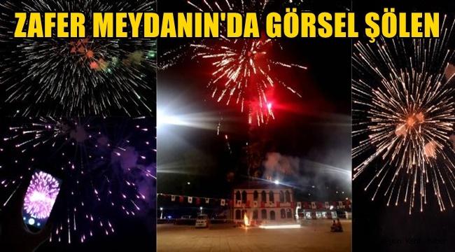 Afyon Zafer Meydanı'nda Görsel Şölen !