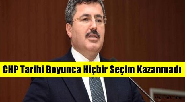 Ali Özkaya, CHP Tarihi Boyunca Hiçbir Seçim Kazanmadı