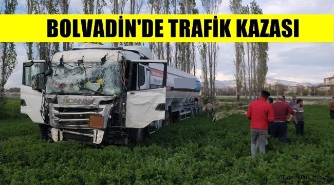 Bolvadin'de Trafik Kazası!