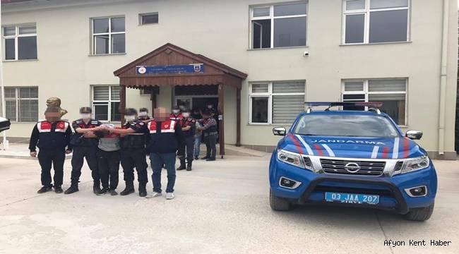 Bolvadin'den firar eden tutuklu yakayı ele verdi !!