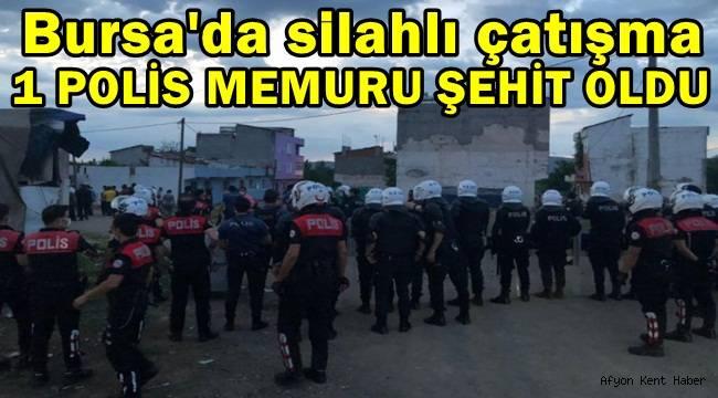 Bursa'da silahlı çatışmada Polis Memuru Erman Özcan Şehit oldu !