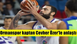 Cevher Özer, Ormanspor ile yeniden anlaştı !
