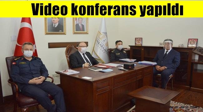 Ege Bölgesi toplantısı video konferans yöntemiyle yapıldı
