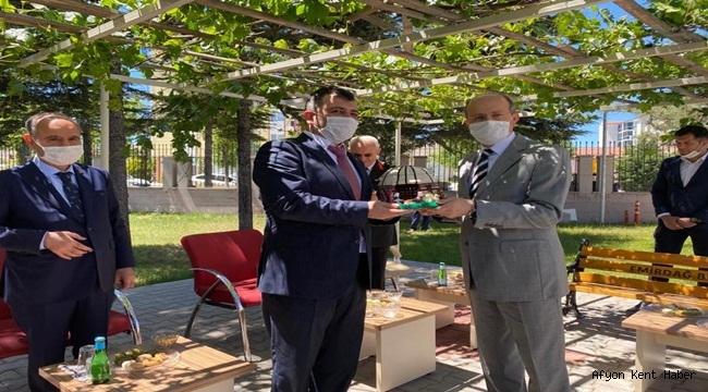 Emirdağ, Emniyet Genel Müdürü Mehmet AKTAŞ'ı misafir etti