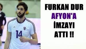 Furkan Dur, Afyon'a imzayı attı !!