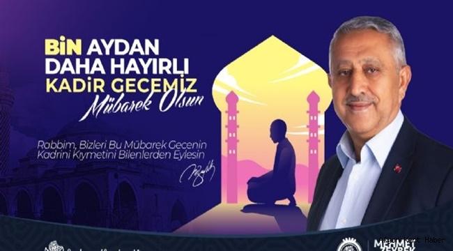 Mehmet Zeybek, Kadir Gecesi mesajı yayımladı !