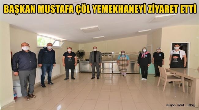 Mustafa Çöl'den Yemekhaneye ziyaret!