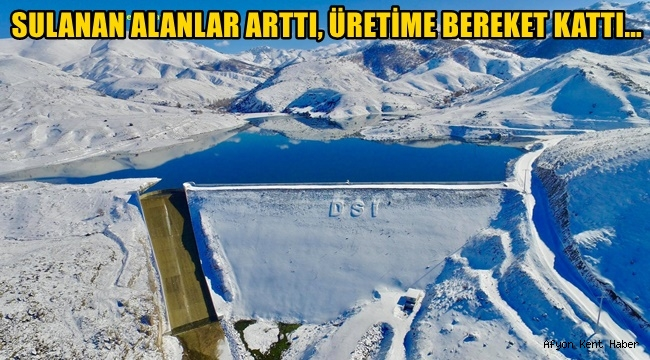 Veysel Eroğlu, Sulanan Alanlar Arttı, Üretime Bereket Kattı !