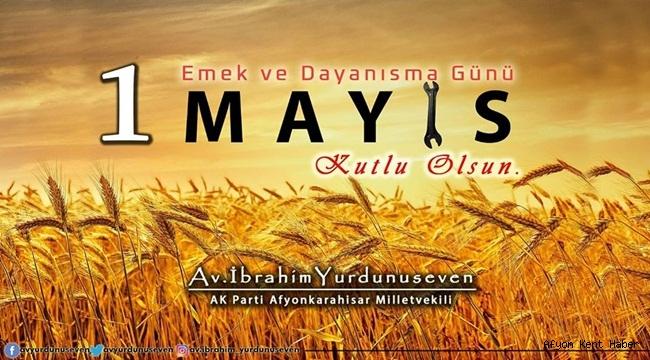 Yurdunuseven'den 1 Mayıs Emek ve Dayanışma günü mesajı!