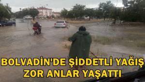 Bolvadin'de Şiddetli Yağış Zor Anlar Yaşattı - Bolvadin Haberleri