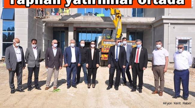"""Milletvekili Ali Özkaya """"Yapılan yatırımlar ortada"""""""