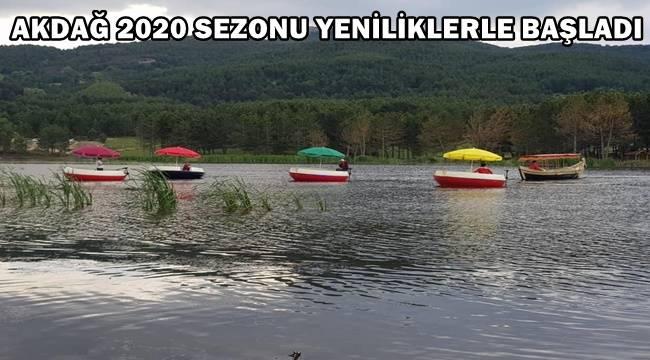 Sandıklı Akdağ'da 2020 sezonu yeniliklerle başladı