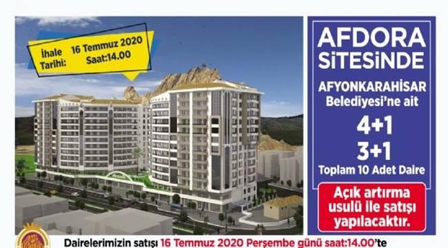 Afyon Afdora Evleri Satışa Çıkıyor !!