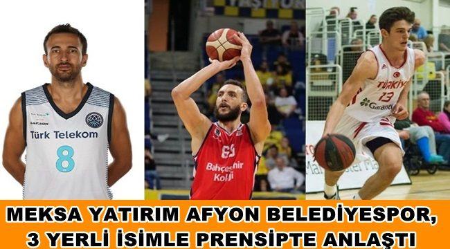 Afyon Belediyespor 3 oyuncu ile prensipte anlaştı !