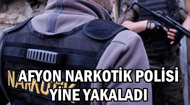 Afyon'da evinin bahçesinde Kenevir yetiştiren şahıs tutuklandı !