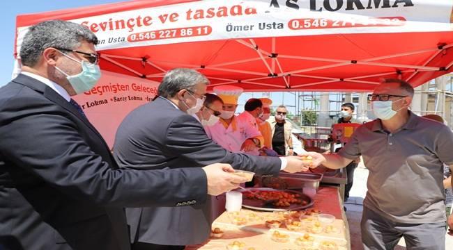 Afyon'da Paşa Camii ve İmaret Camii'nde lokma dağıtıldı !!