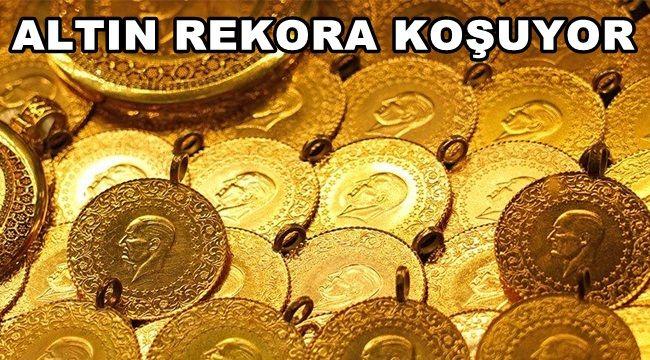 Altın Rekora Koşuyor !!!