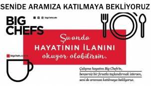 Big Chefs Cafe & Brasserie Afyon'da açılacak şubesine elemanlar arıyor !!
