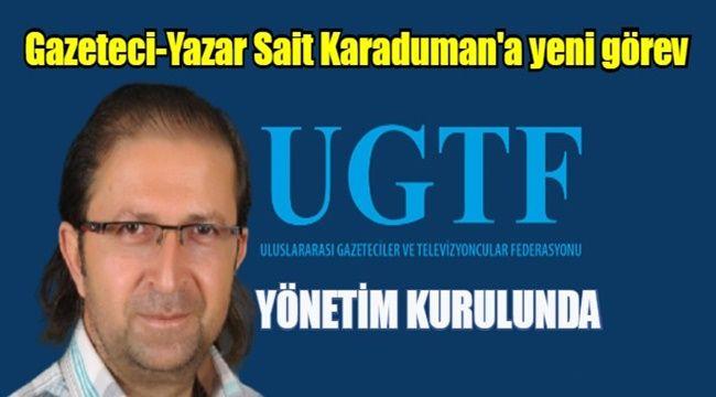 Gazeteci Karaduman, Federasyon Yönetim Kurulu'na seçildi
