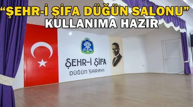 Sandıklı'da Şehr-i Şifa Düğün Salonu Hizmete hazır !